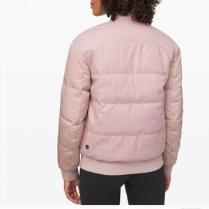 Lululemon reversible bomber puffed jacket
